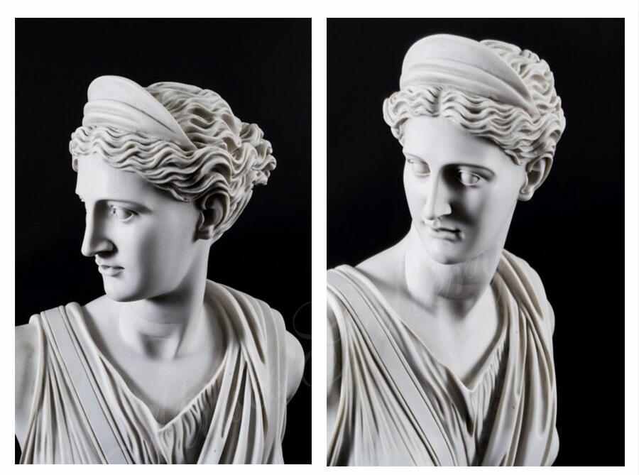 Famous Artemis Diana Bust Greek Godness Statue Replica for Sale