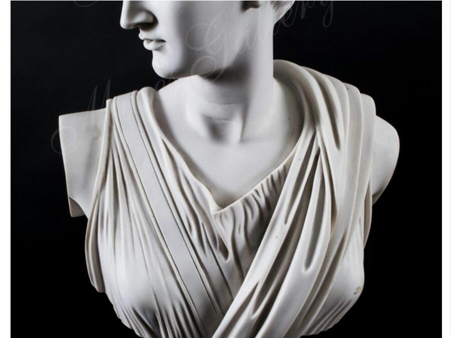Famous Marble Artemis Diana Bust Greek Godness Statues Replica for Sale MS-105