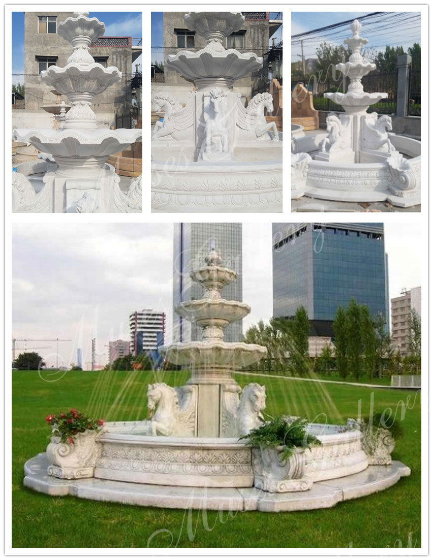 cheap-Outdoor-Marble-Water-Fountains-With-Horses-Sculpture-for-Sale