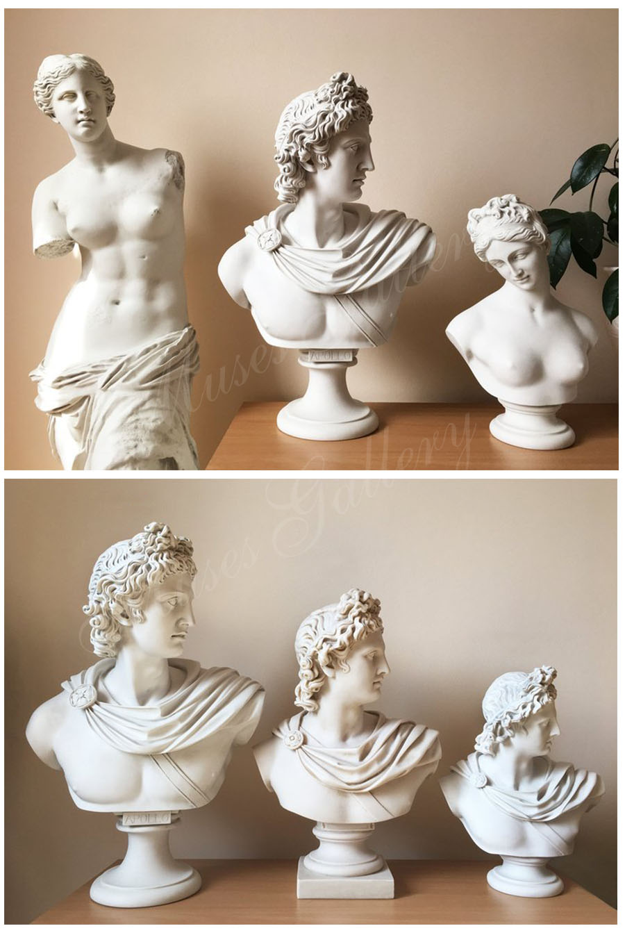 famous greek bust statue for home decor for sale