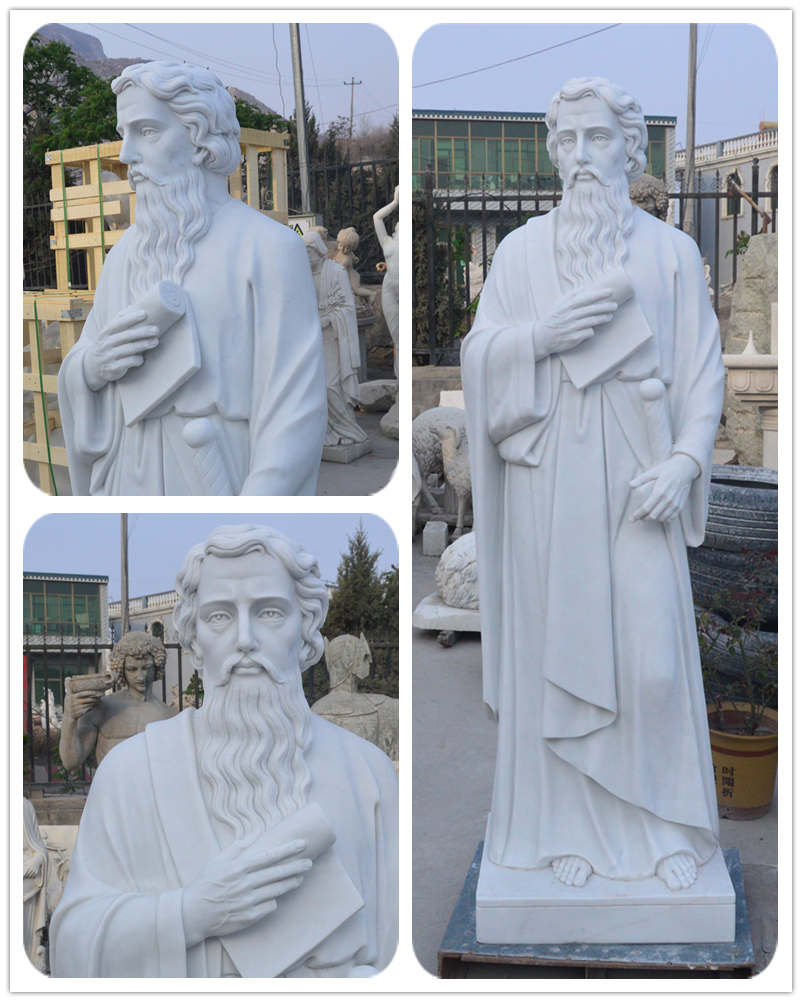 Catholic 12 Apostles St. Paul Statue for church
