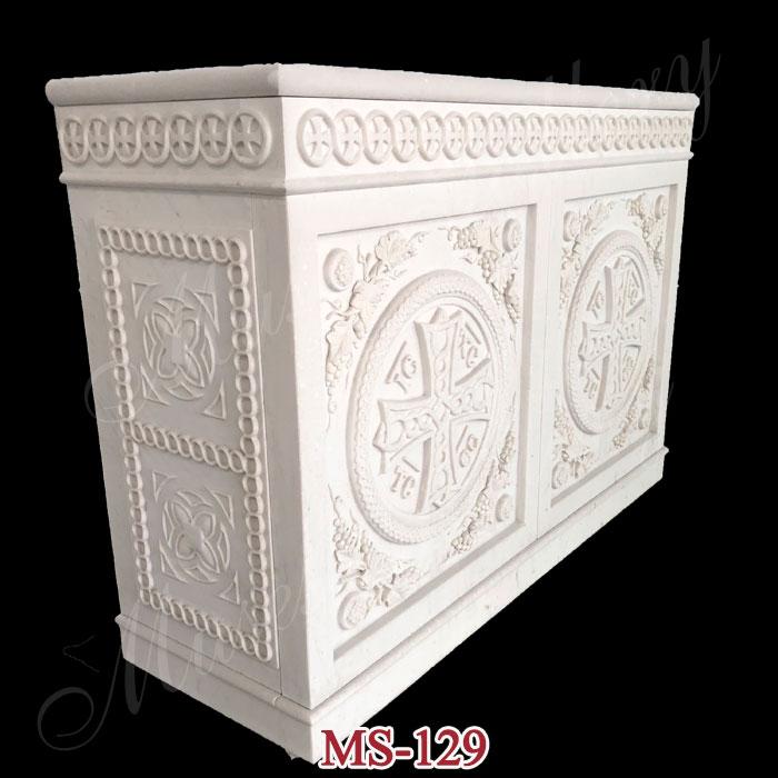 Catholic Church Marble Altars Table Church Altars Design supplier