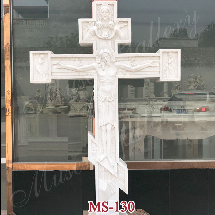 Crucifixes with Jesus Statue Catholic Religious Sculpture for Sale MS-130