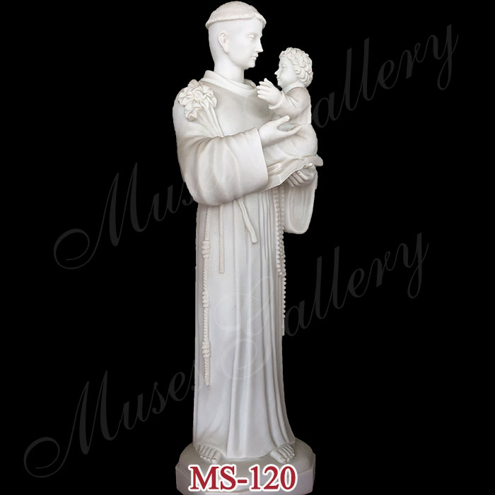 Famous Saint Anthony of Padua Statue Outdoor Saint Statues for Sale