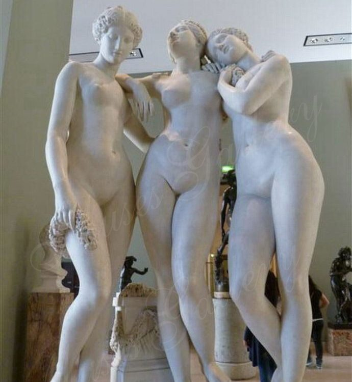 Famous Three Grace Statues Replica Marble Three Goddesses Sculptures for Sale