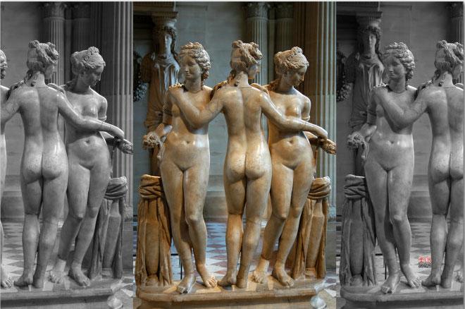 Three-Grace-statues-Three-Goddness-sculpture-replica