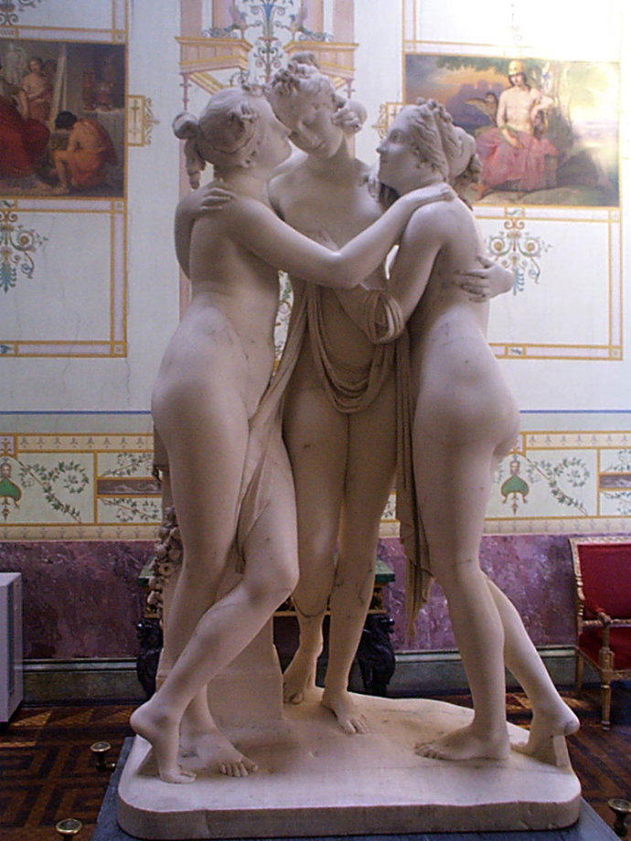 famous-marble-Three-Grace-Statue-for-sale