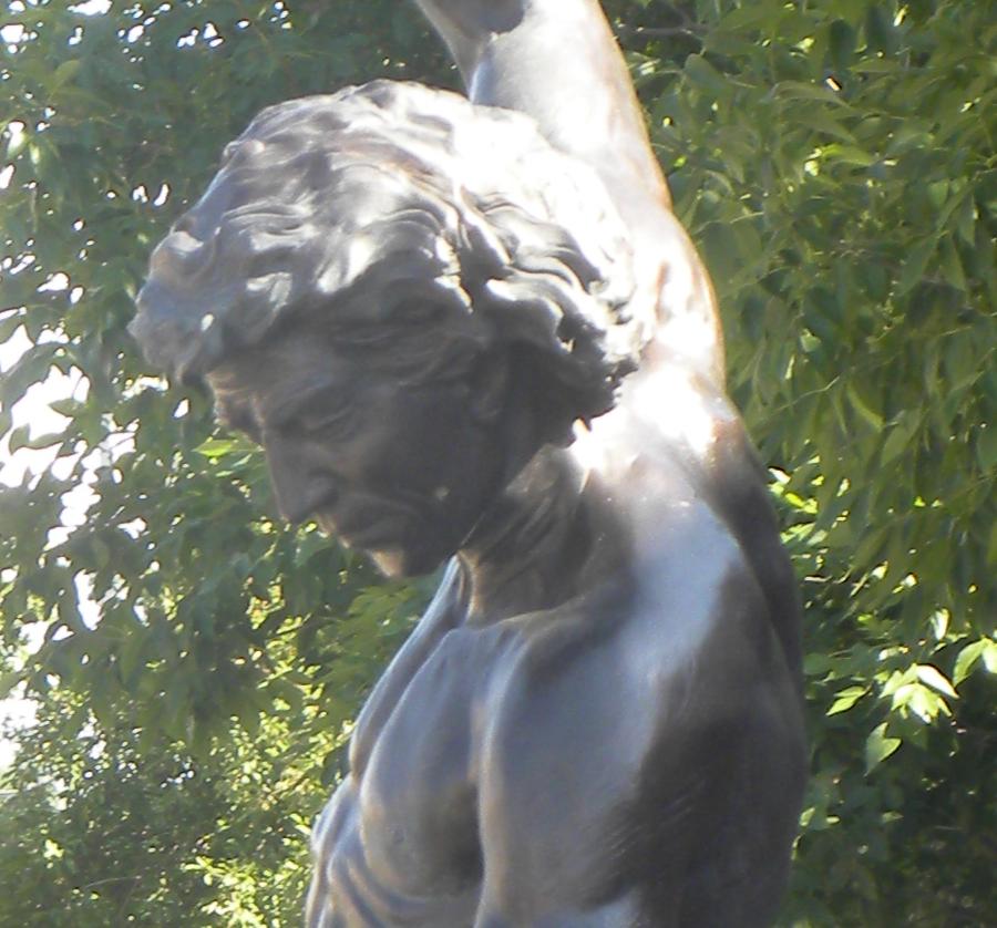 Custom Made Self Made Man Statue Replica for Sale