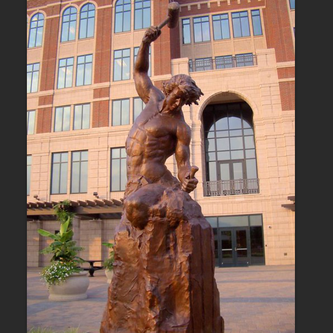 Famous Bobbie Carlyle Sculpture Self Made Man Statue Replica for Sale–M-05