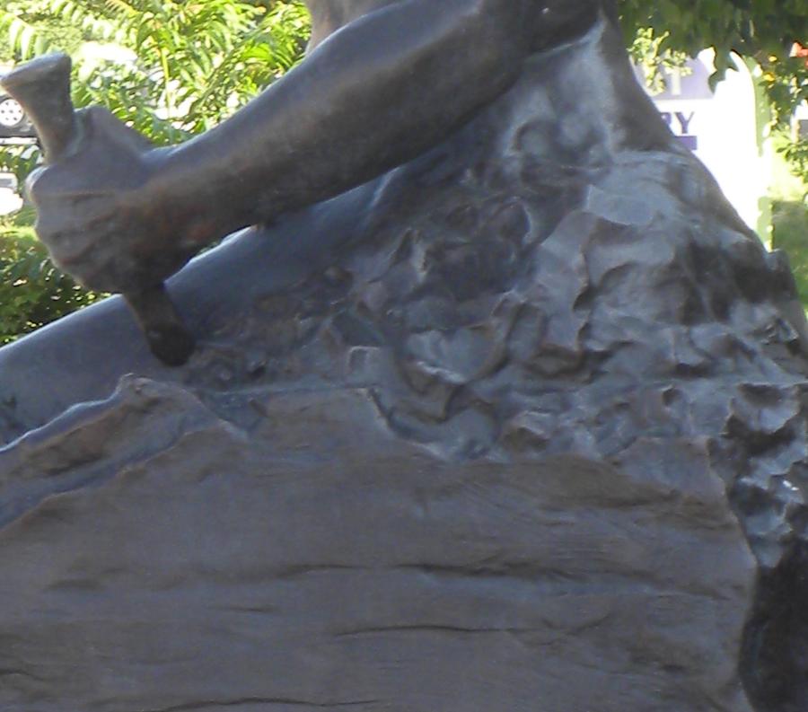 Famous Custom Made Self Made Man Statue Bronze Sculpture Replica for Sale