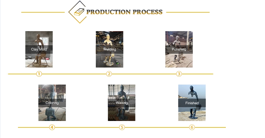 process of bronze casting sculpture