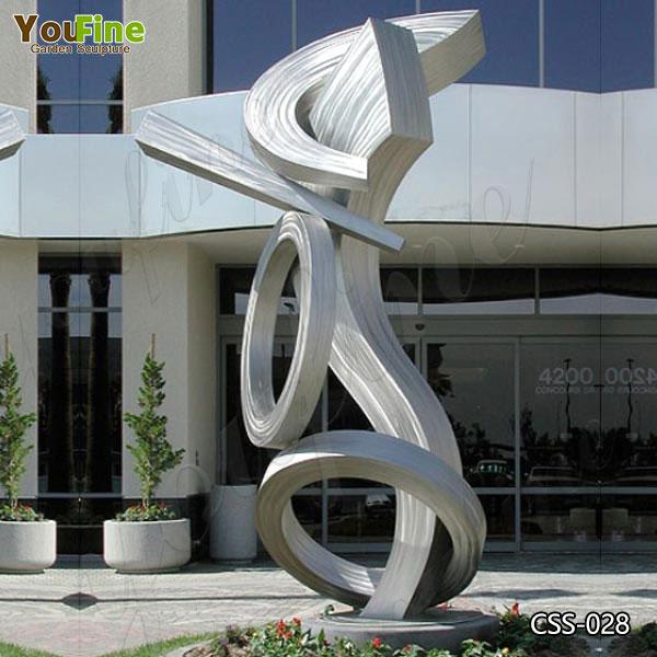 Modern Art Outdoor Abstract Metal Sculpture Manufacturers CSS-28