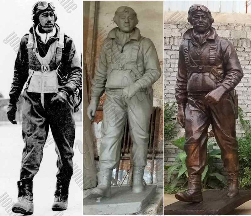 Bronze Soldiers Statues