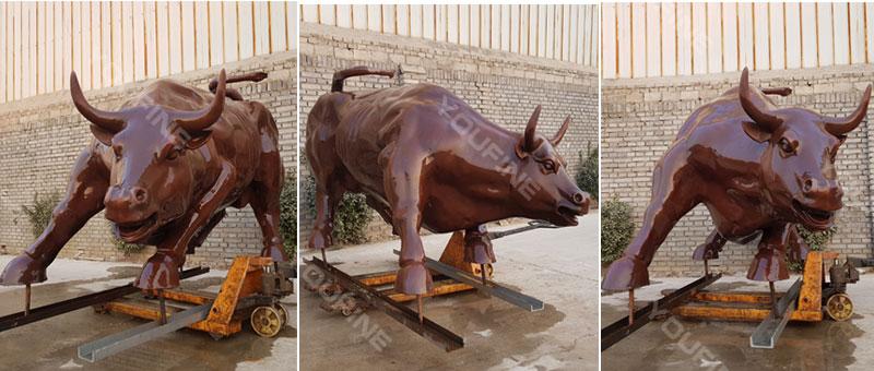 Casting Bronze Bull Statue