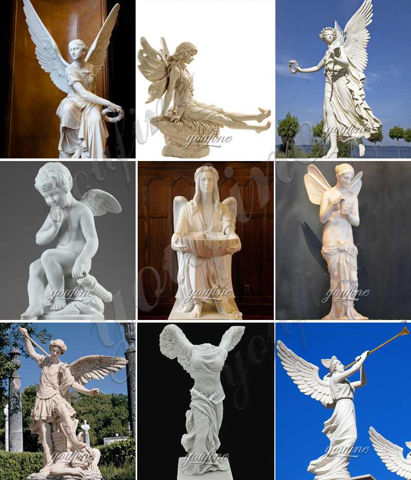 Marble angel sculpture for sale