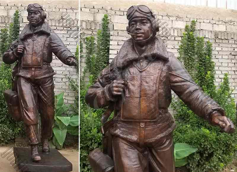 Outdoor Bronze Soldiers Statues