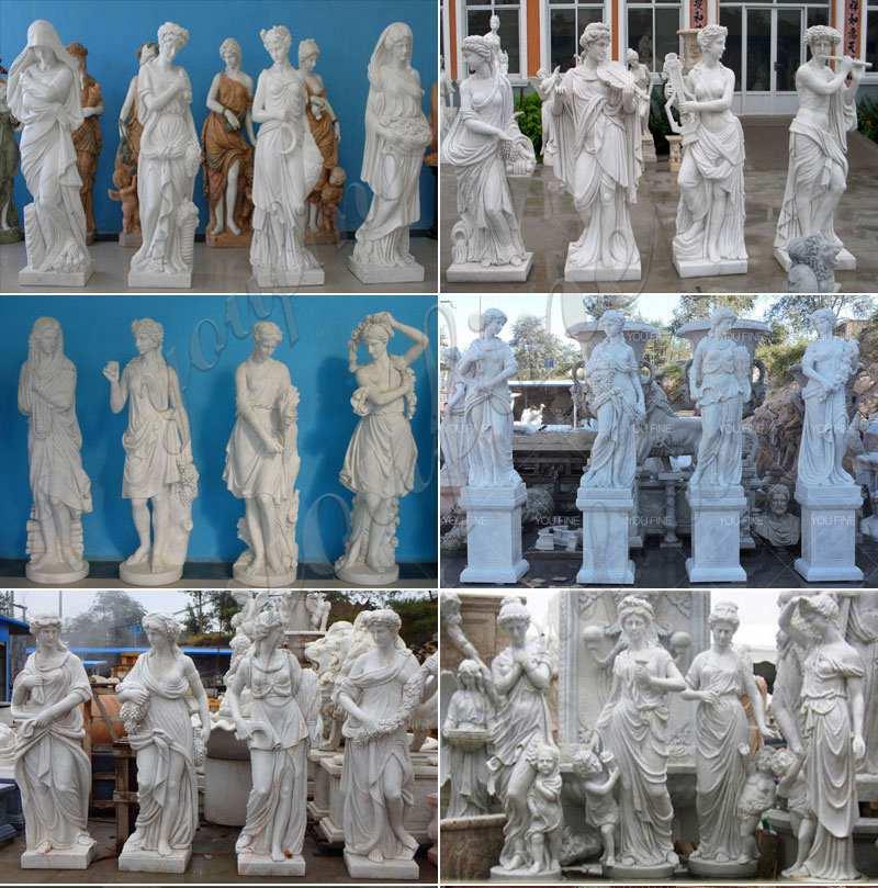 outdoor-garden-four-season-statue