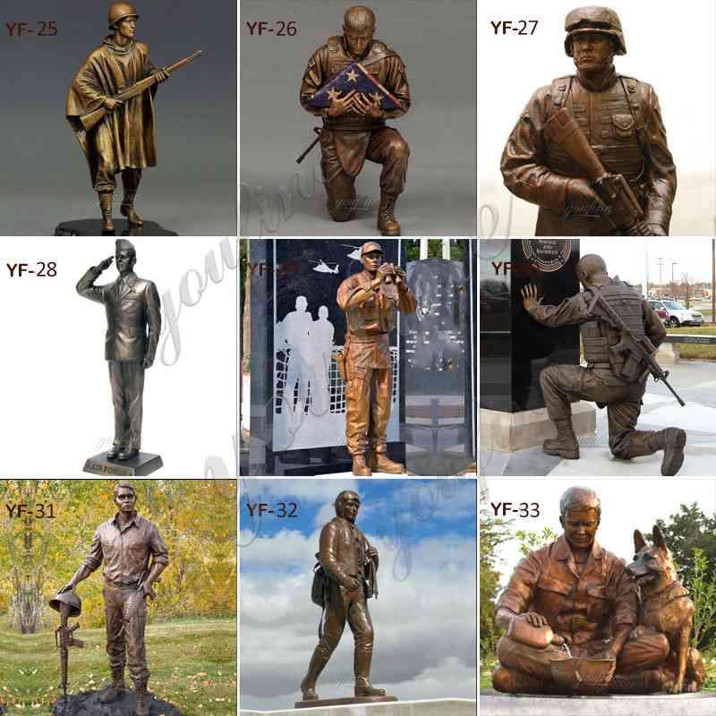 Bronze Soldier Statue