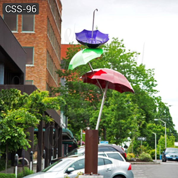 Modern Art Garden Stainless Steel Umbrella Sculptures Suppliers CSS-96