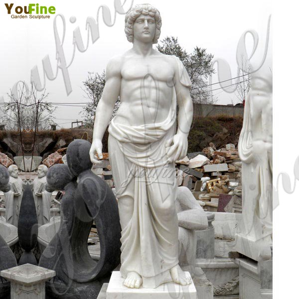 Where to Buy Garden Decoration Marble Man Statue Classic Greek Art MOKK-76