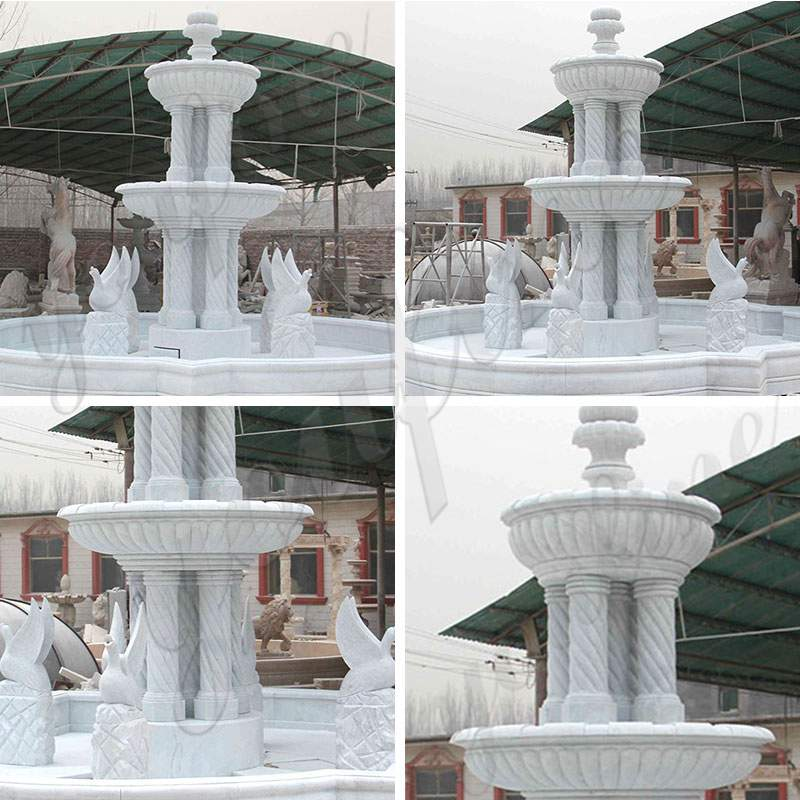 Three Tired Patio Water Fountain for Sale