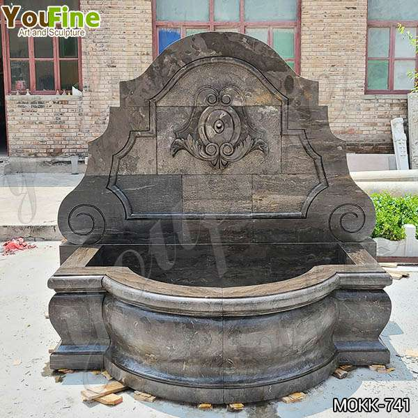 Garden Decor Outdoor Marble Wall Fountain for Sale MOKK-665