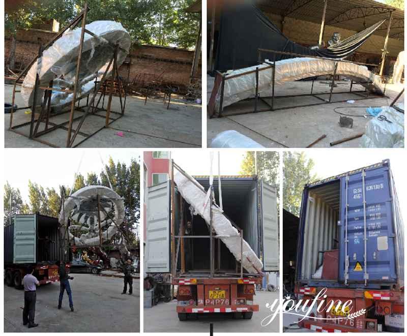 Modern Metal Globe Sculpture for Park for Sale