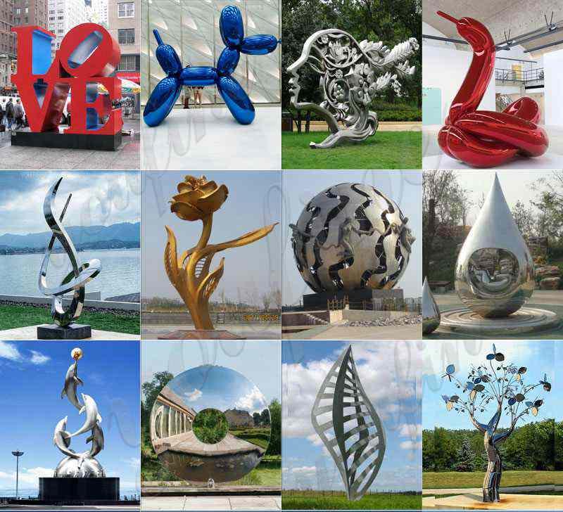 large metal sculptures for sale