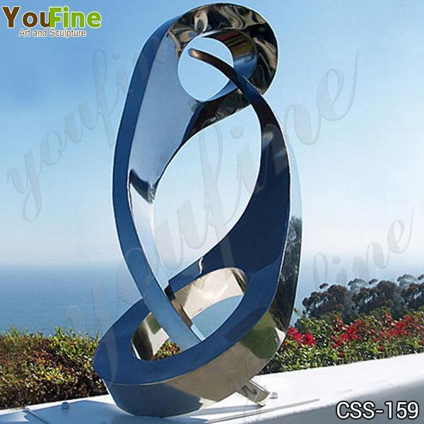 Modern Abstract Metal Sculpture Garden Decor for Sale CSS-159