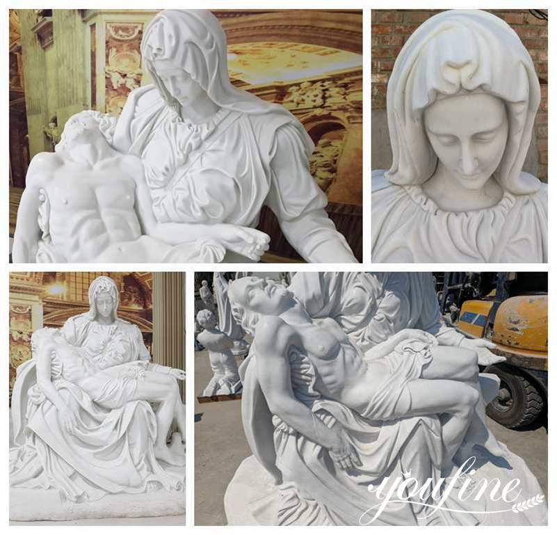 Pieta Statue by Michelangelo for Sale
