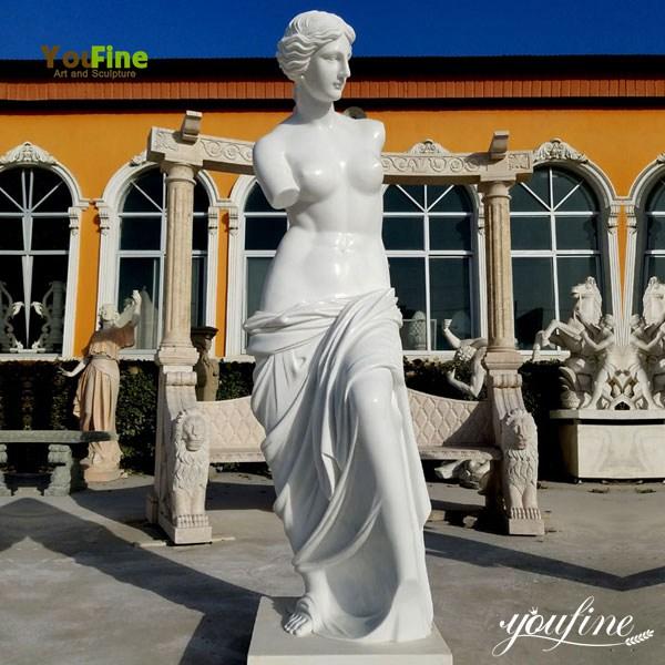 White Marble Venus Statue Renaissance Decoration for Sale MOKK-70