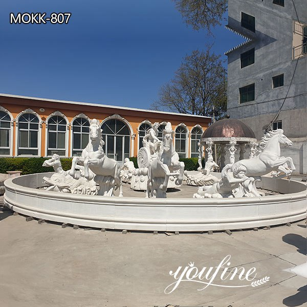 Giant Exquisite Apollo Marble Fountain for sale MOKK-807