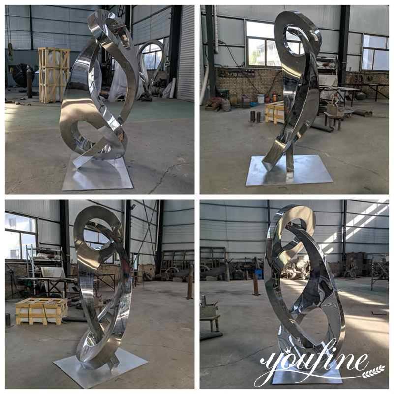 large metal garden sculptures