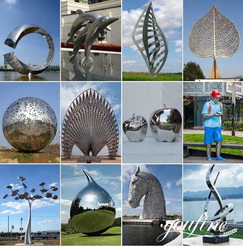 stainless steel sculptures for sale