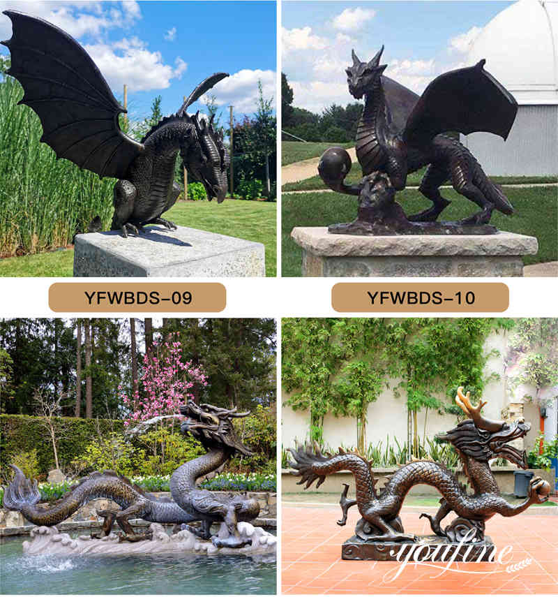 Dragon statue for sale