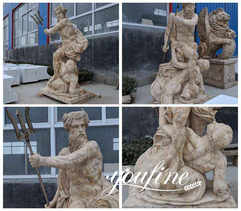 Neptune Calming the Waves statue