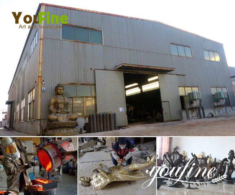 Life Size Antique Bronze Horse Statue factory