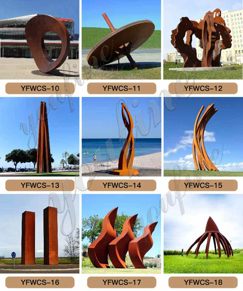 Metal heart sculpture (2)