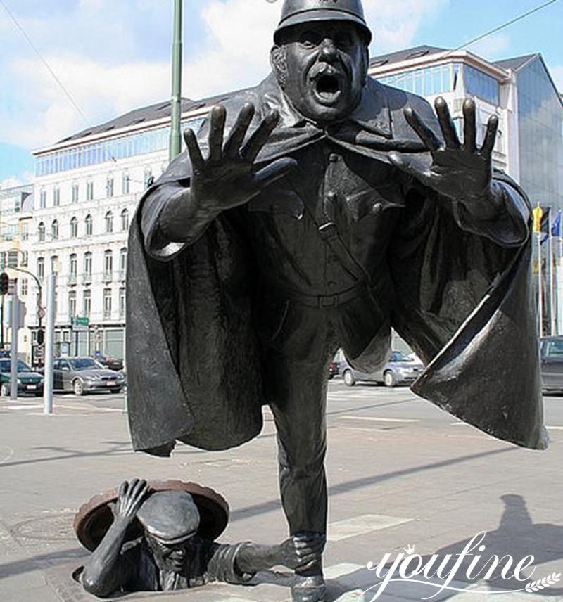 Vaarkapoen Statue Street Decoration for Sale BOKK-959