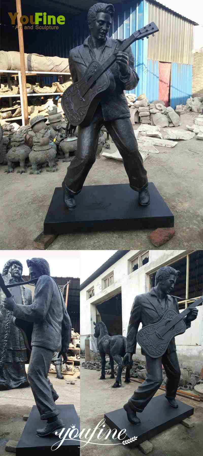 famous-life-size-Elvis-bronze-sculpture