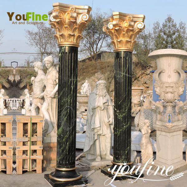 Carved Decorative Marble Roman Column for Sale MOKK-148