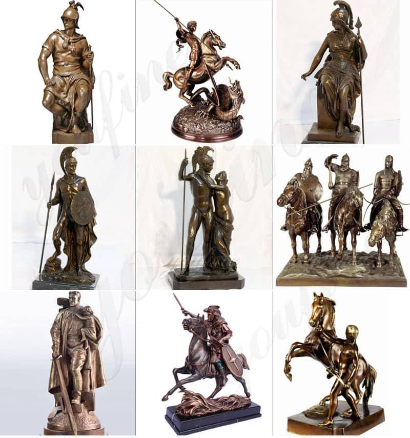 bronze nude statue