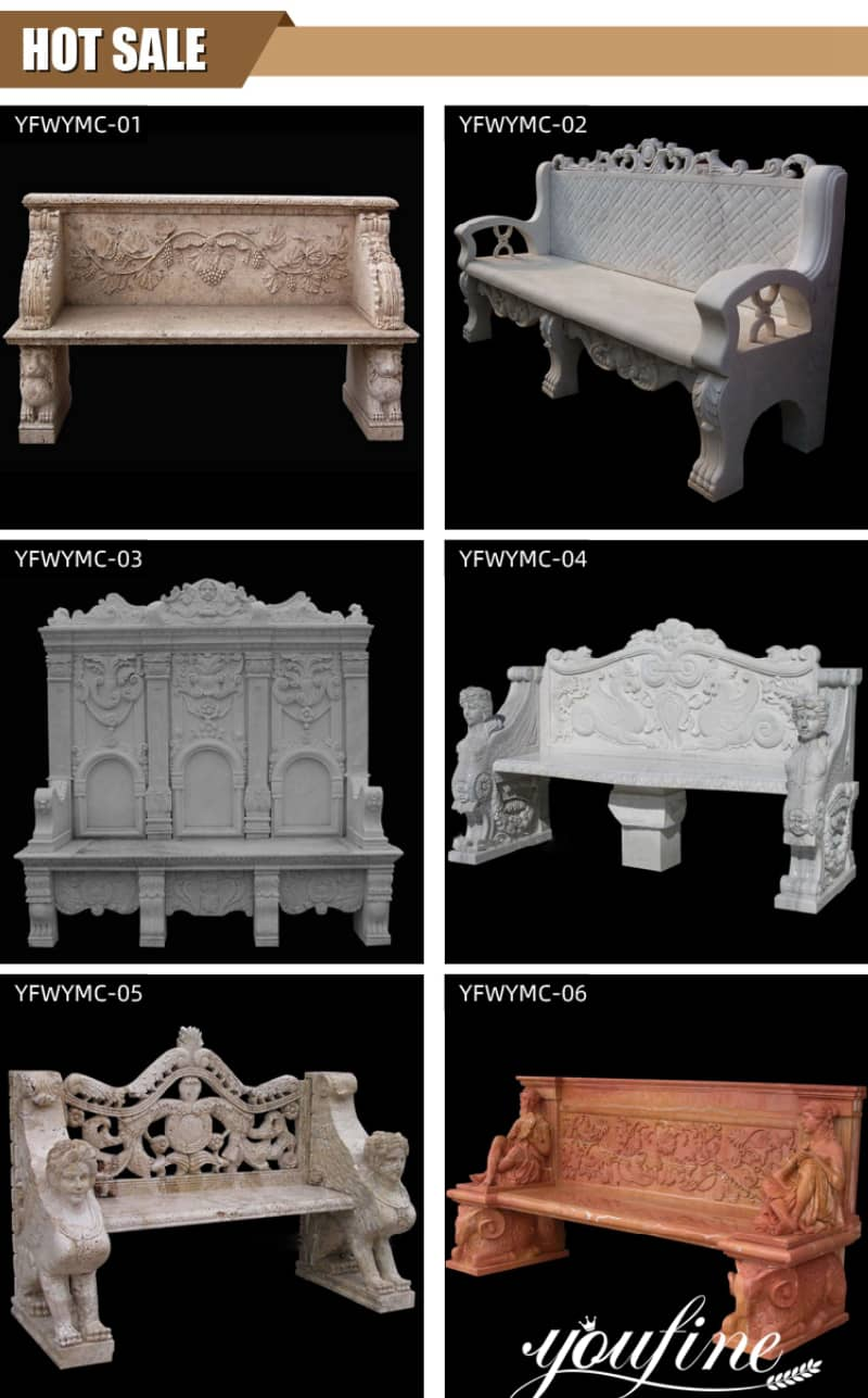 marble benches for sale