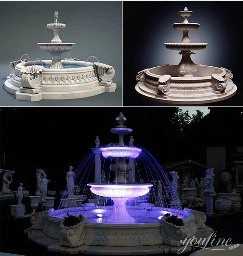 Garden marble fountain (1)