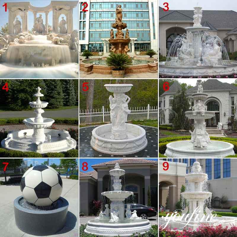 Garden marble fountain for sale