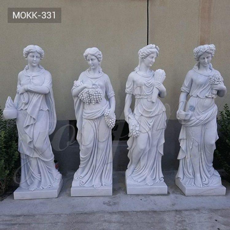 Life-Size Garden Marble Four Seasons Statue for Sale MOKK-331