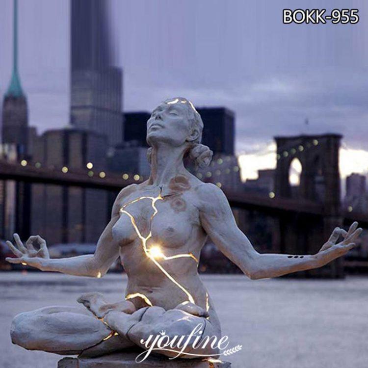 Bronze Paige Bradley Sculpture with light for Sale BOKK-955