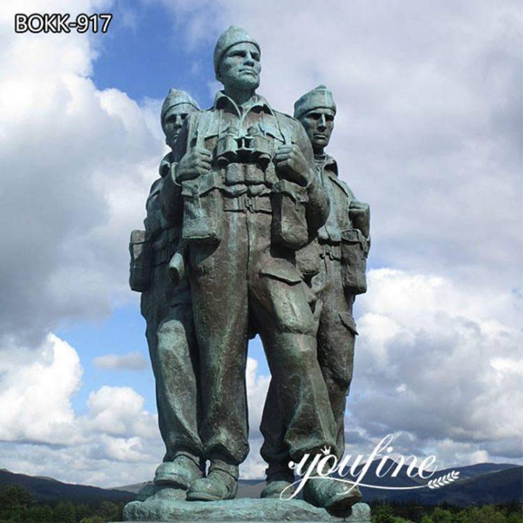 Large Bronze Commando Memorial Statue for Sale BOKK-917