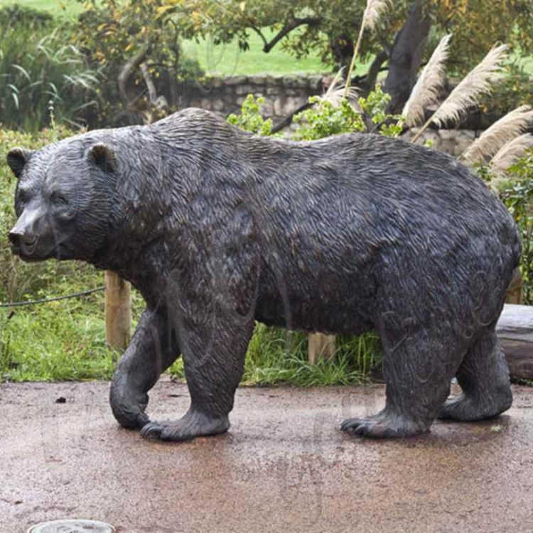 Life-Size Bronze Bear Statue for Sale BOKK-02
