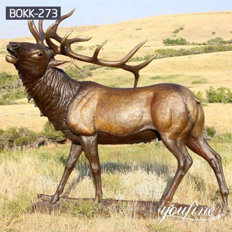 Why do People Like Bronze Deer Statues?